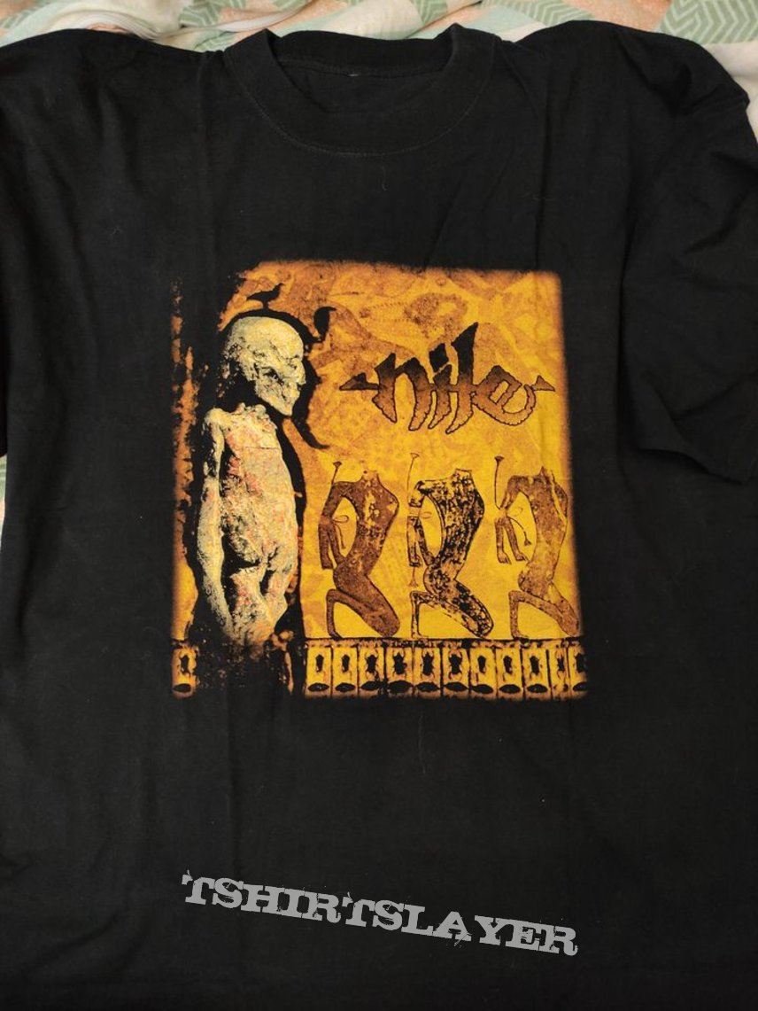 Nile - Amongst the Catacombs of Nephren-Ka shirt (bootleg?)