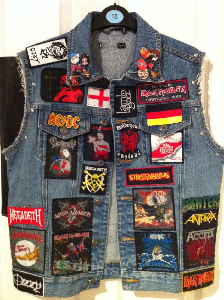 My unfinished battle jacket! (2nd update)