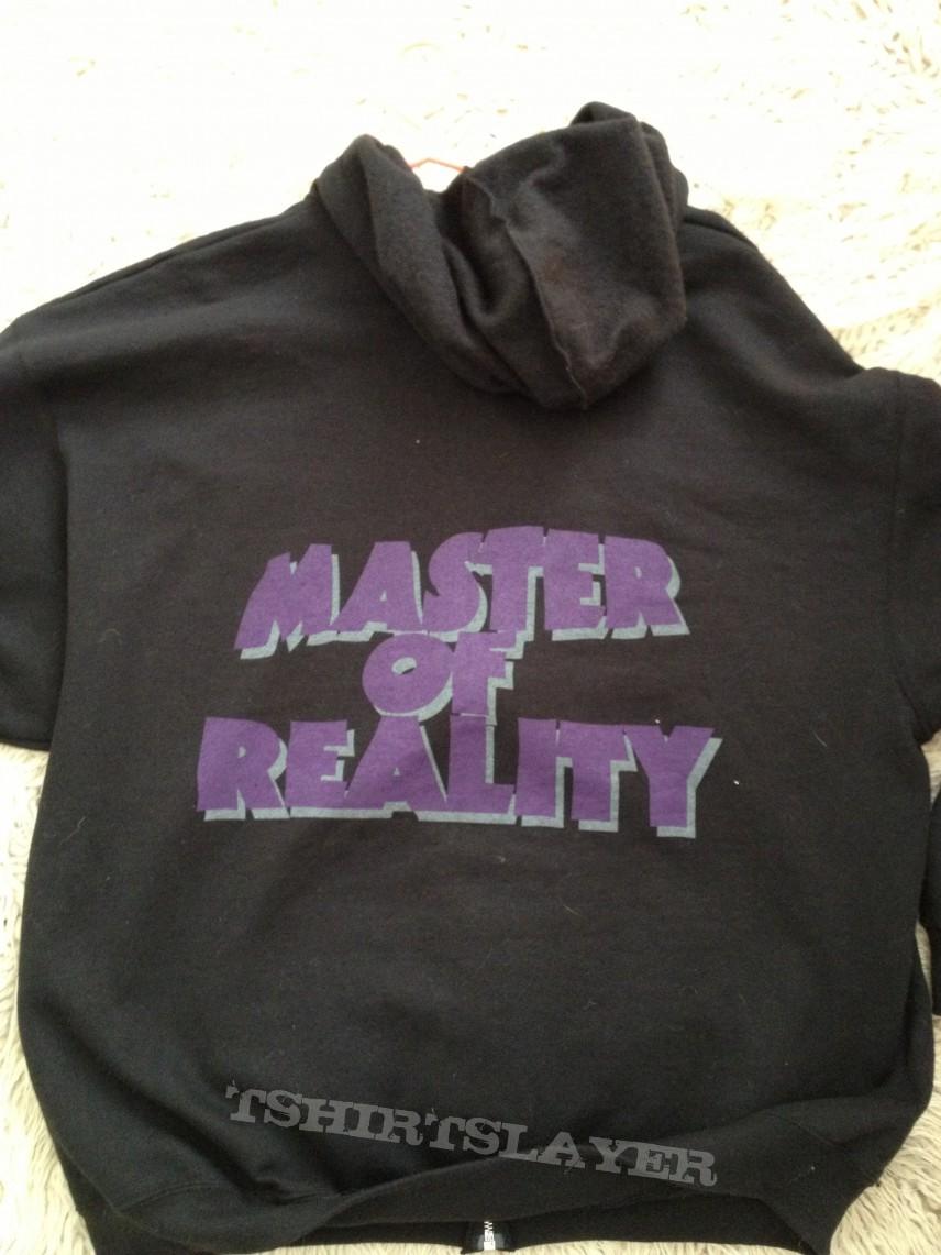 Black sabbath t shirt xxl - Black Sabbath Master Of Reality Hoodie Xxl