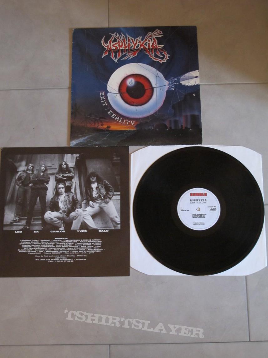 ASPHIXIA - Exit: Reality (Vinyl)