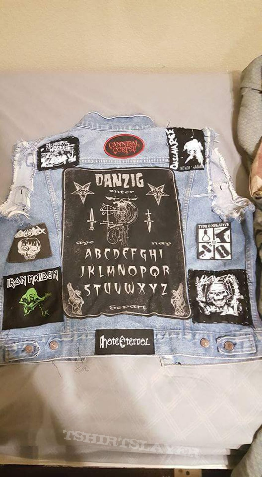 Pictures of my old vest