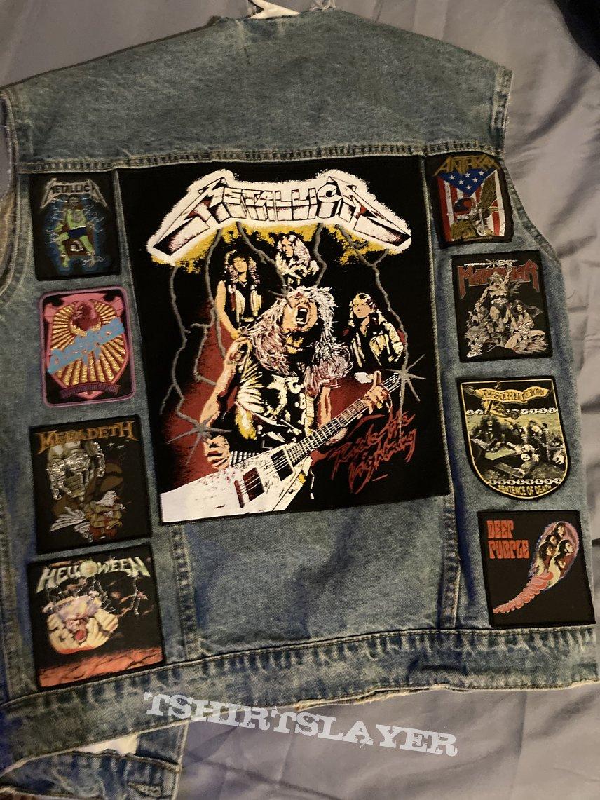 80s vest (in progress)