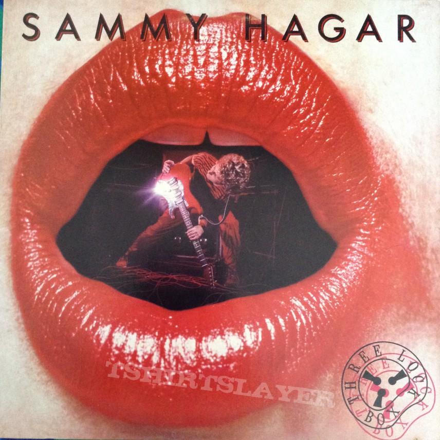 Sammy Hagar Three Lock Box Tshirtslayer Tshirt And