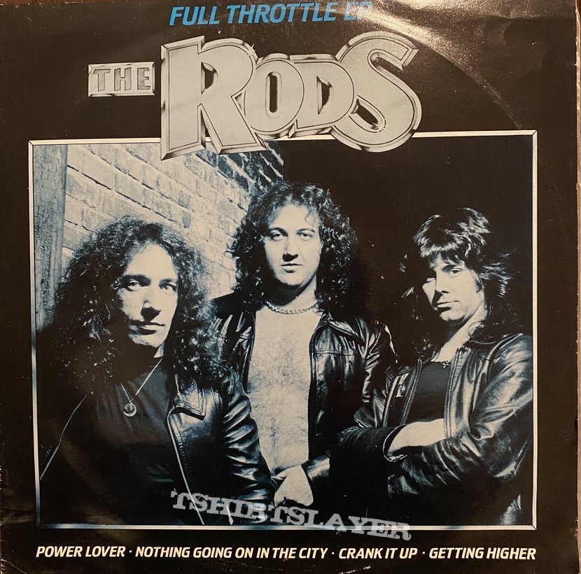 The Rods - Full Throttle EP