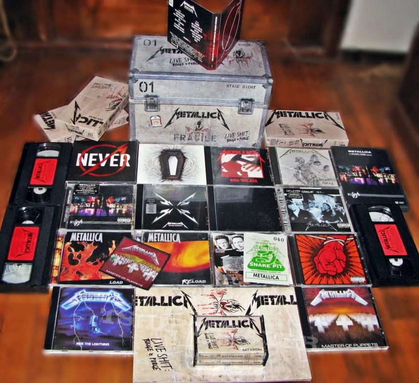 Rayearth S Metallica Metallica Collection Tape Vinyl