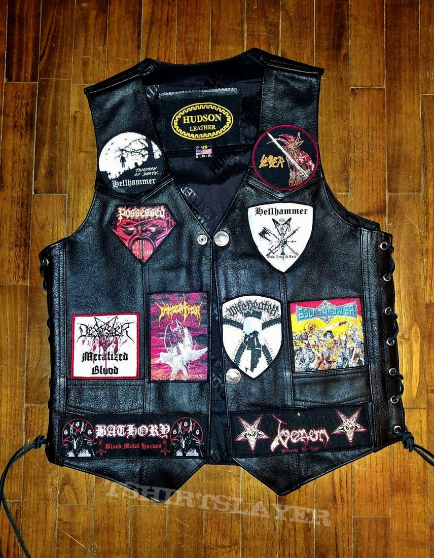 Cant stop updating my vest