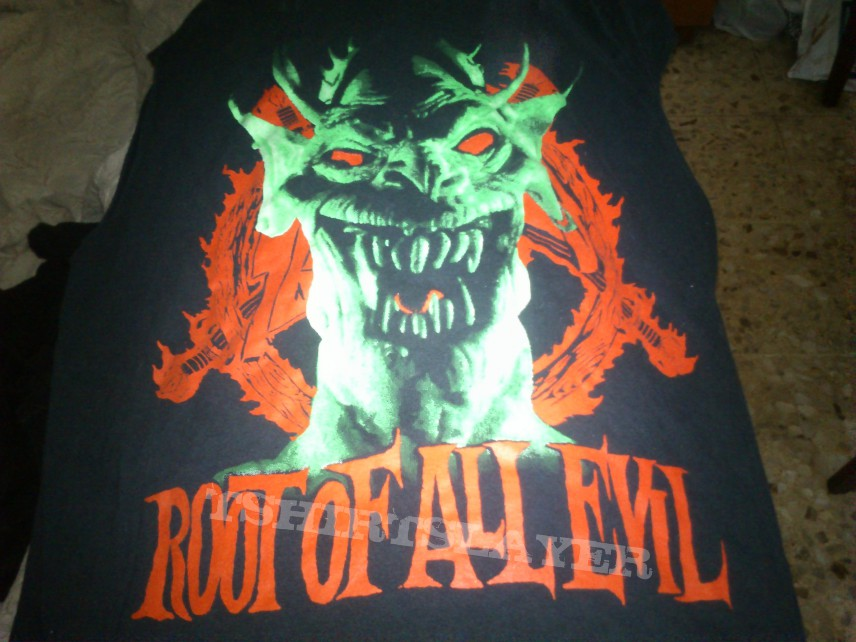 Slayer Root of all evil t-shirt