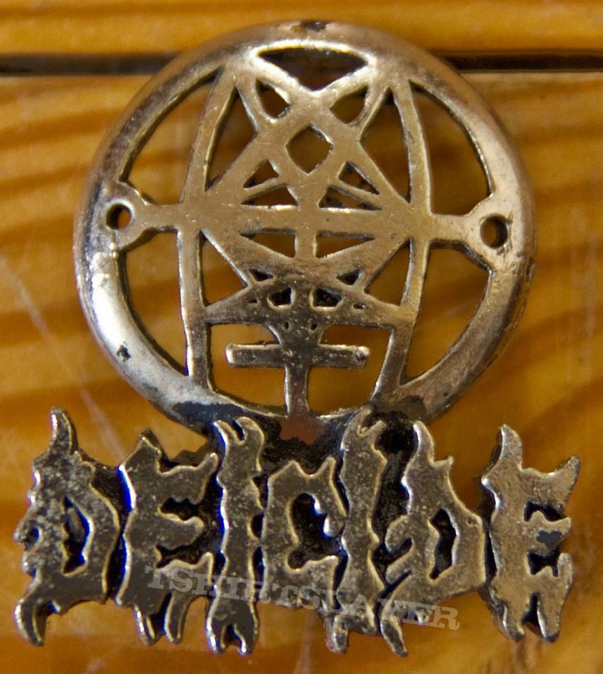 Deicide Trifixion Alchemy metal pin