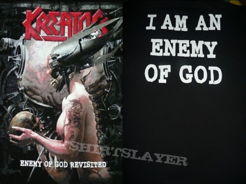 TShirt or Longsleeve - KREATOR - Enemy Of God Revisited