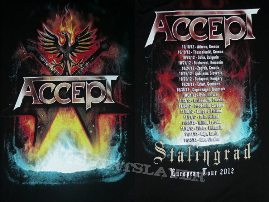 TShirt or Longsleeve - ACCEPT - Stalingrad Europian Tour 2012