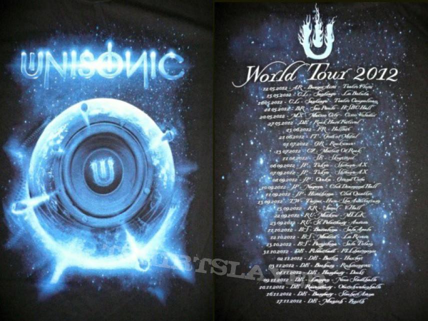 TShirt or Longsleeve - UNISONIC - Tourshirt 2012