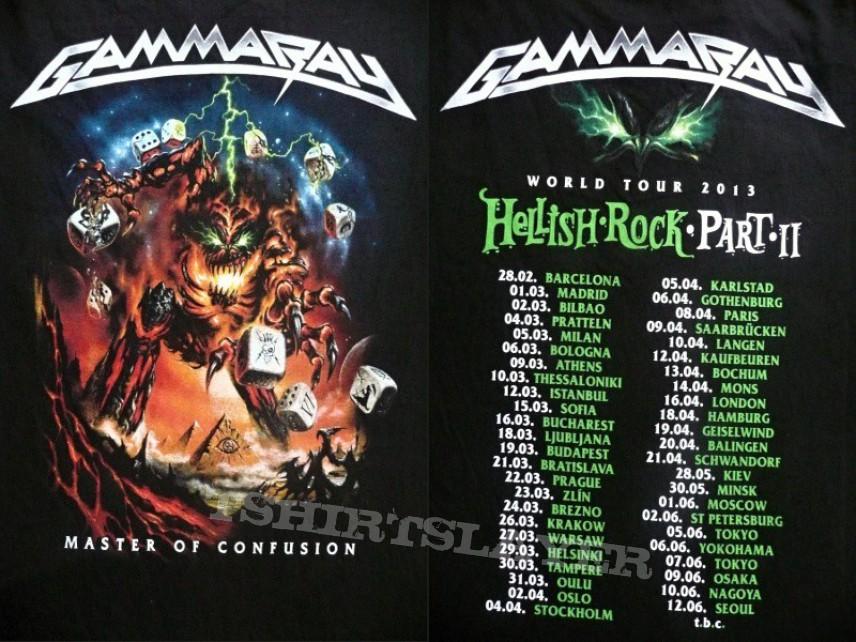 TShirt or Longsleeve - GAMMA RAY - Hellish Rock Tour pt.II