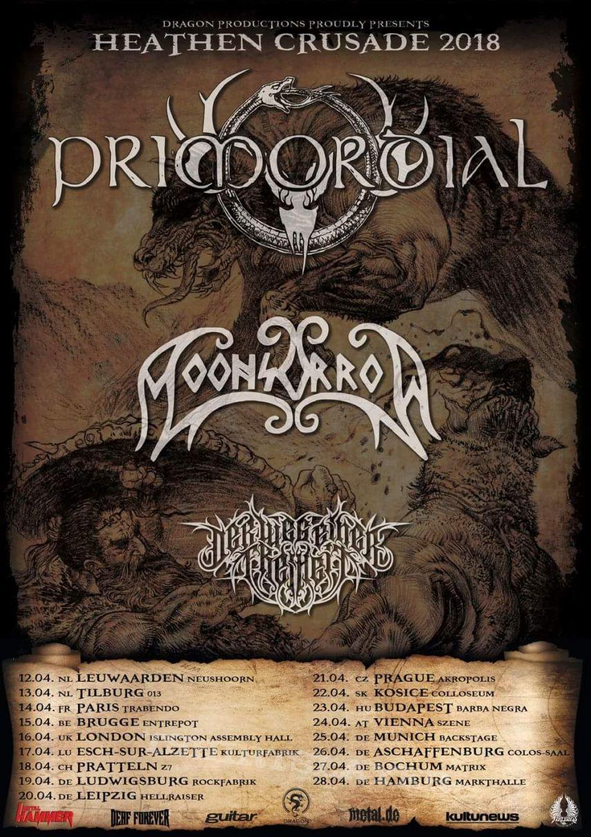 Moonsorrow tour poster