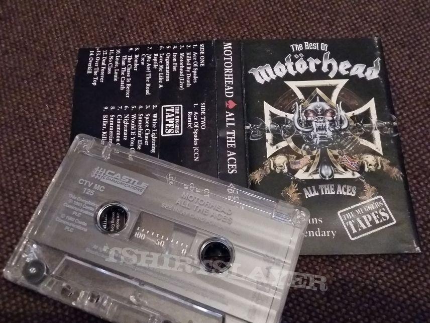 Motörhead – All The Aces - The Best Of Motörhead - Cassette
