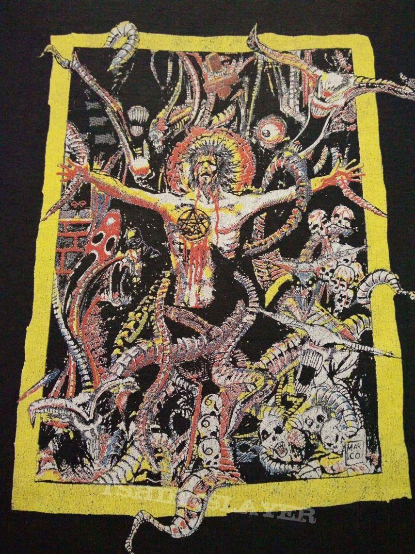 PESTILENCE original vintage altenative jesus death consuming impulsive shirt