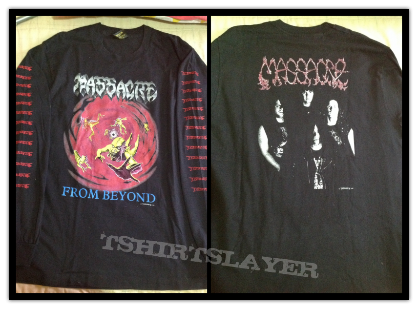 Massacre from beyond long sleeve the real deal