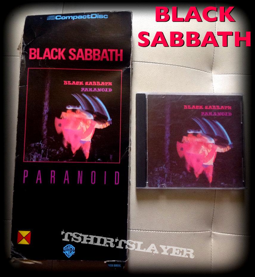 BLACK SABBATH paranoid longbox