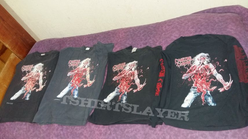 cannibal corpse eaten back to life long sleeve tour dates on sleeve