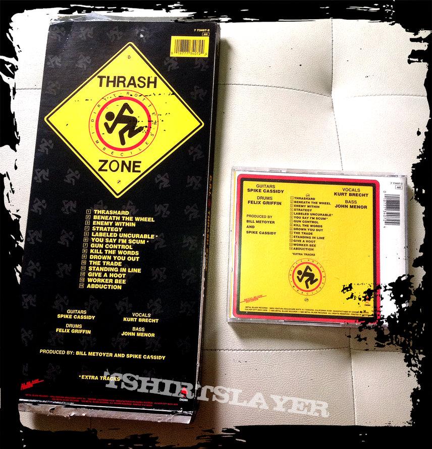 D.R.I. thrash zone longbox