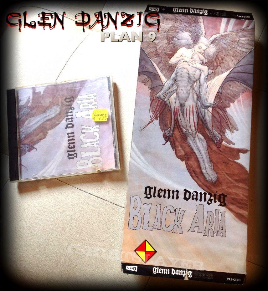 Black Aria by GLEN DANZIG longbox