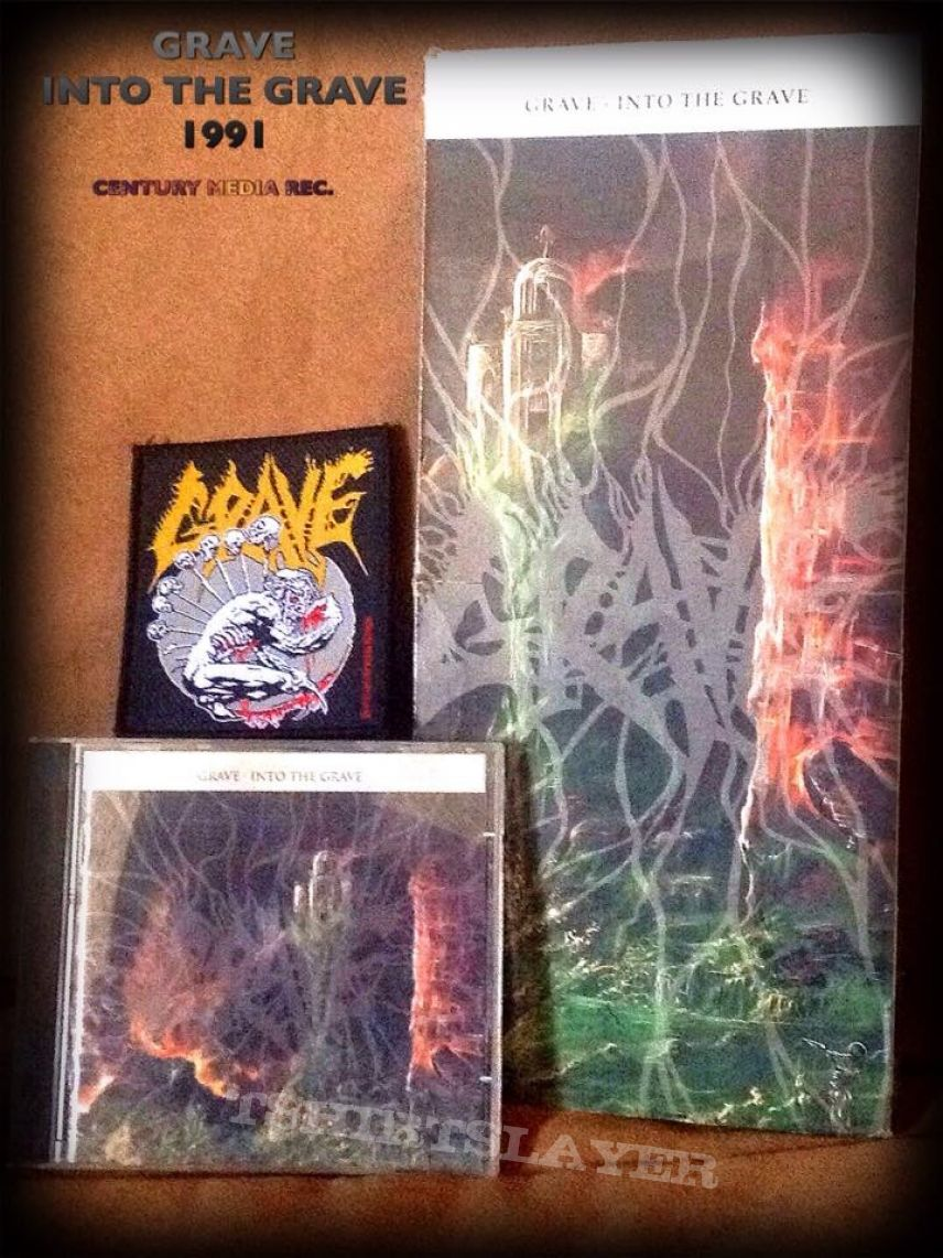 GRAVE Into The Grave Longbox