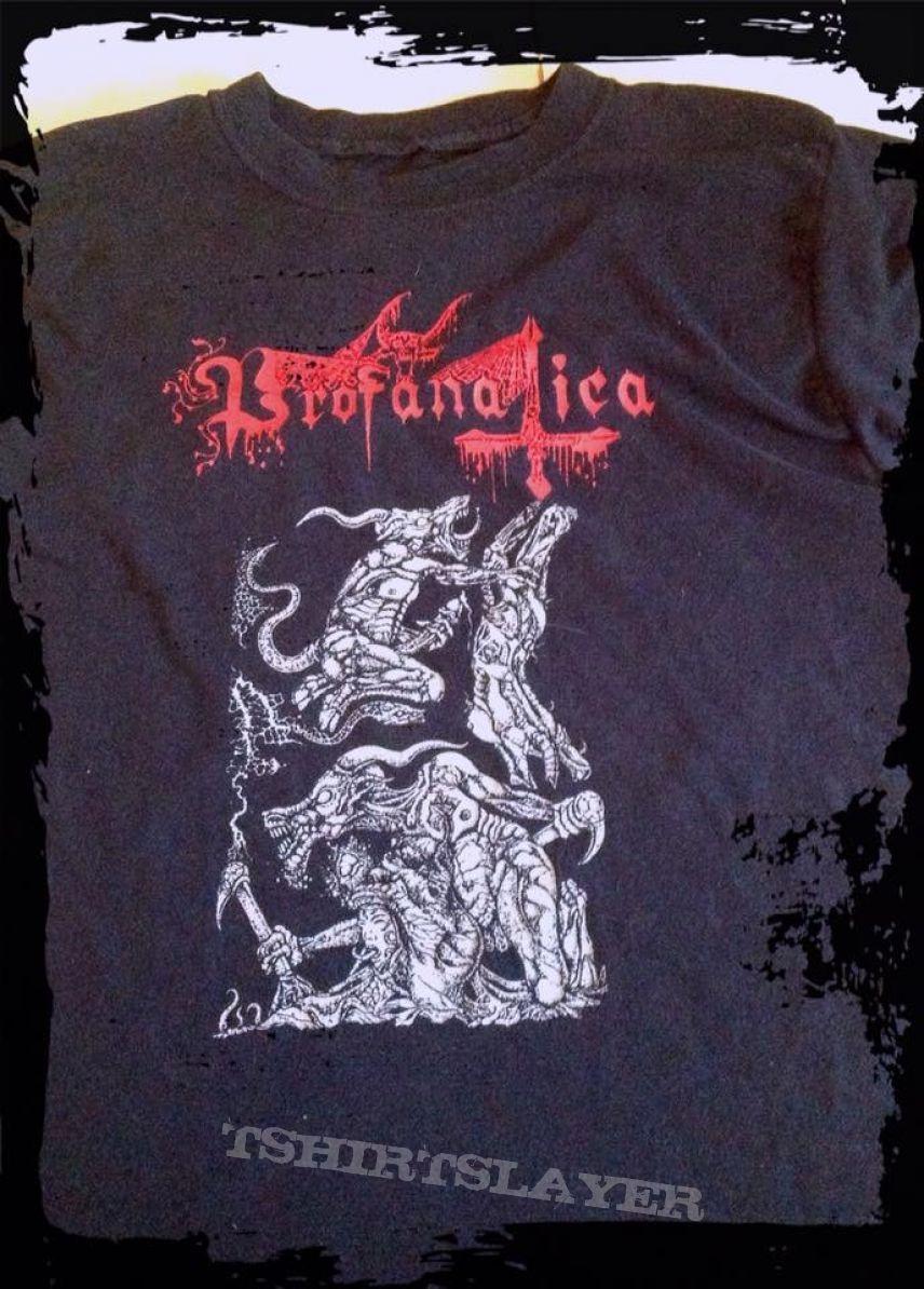 PROFANATICA killer desing shirt, time to blasphemy