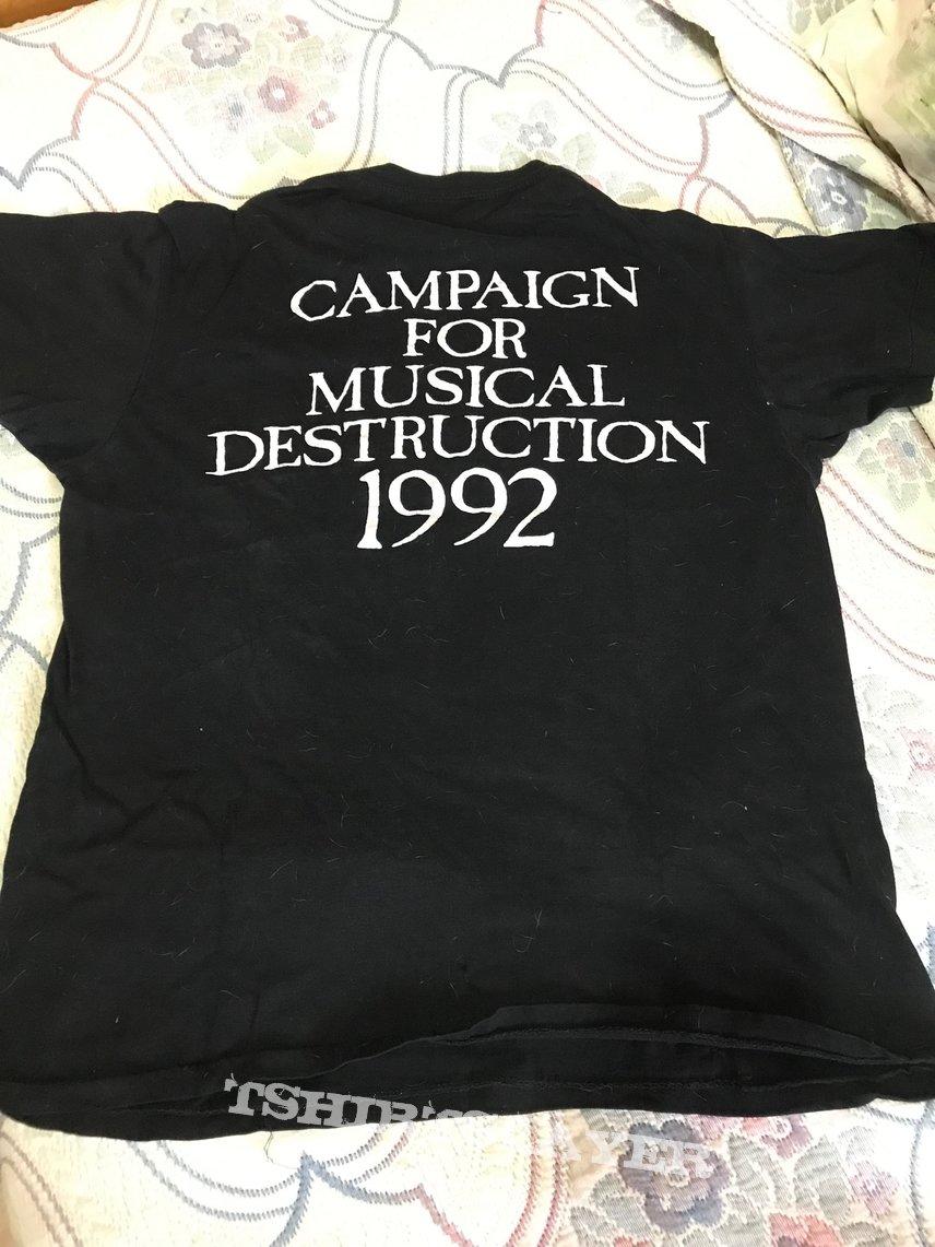 Vintage napalm death 92 tour