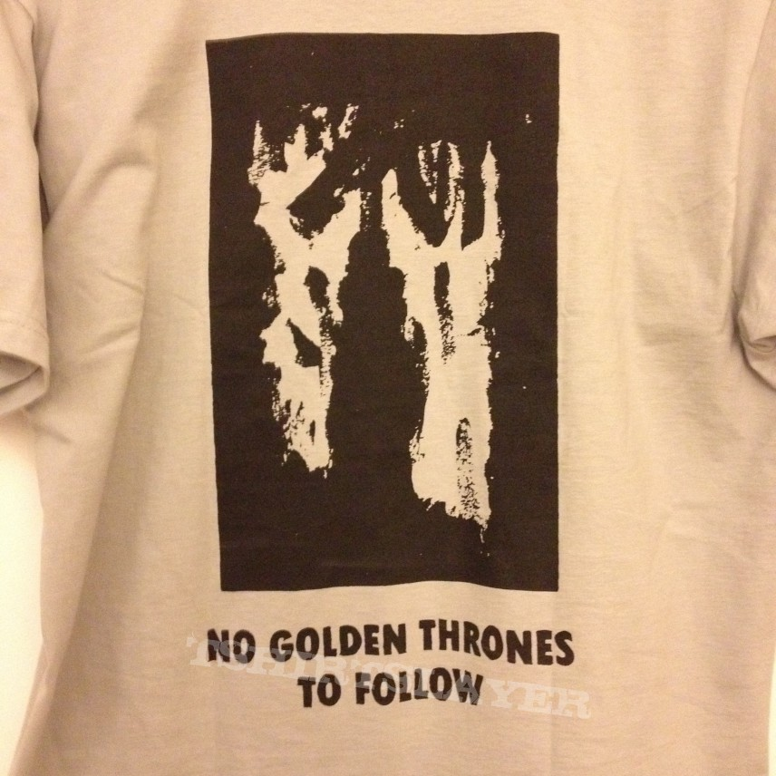 "Mgla ""No Golden Thrones To Follow"" T-shirt"