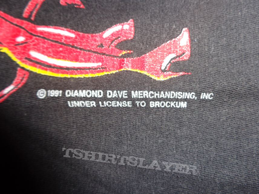 """David Lee Roth """"a little ain't enough tour"""""""
