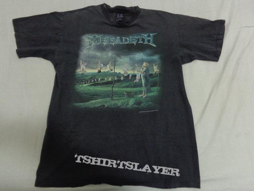 """Megadeth """"youthanasia"""""""