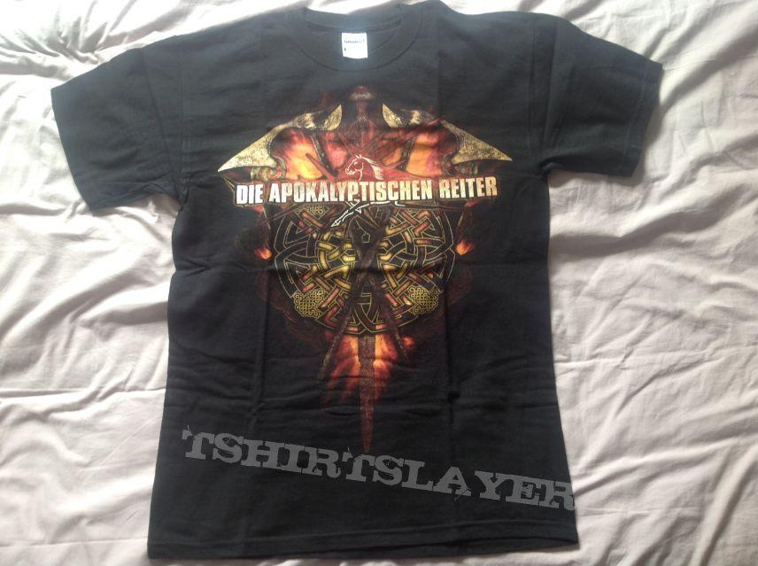 Die Apokalyptischen Reiter - Paganfest tour shirt 2009
