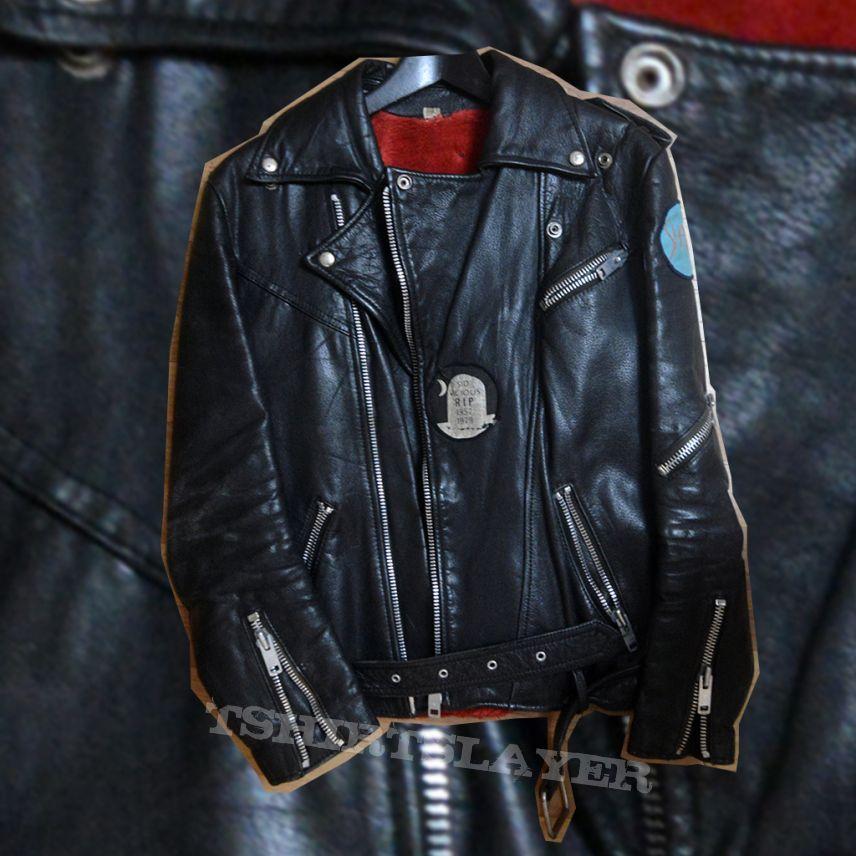 US leather jacket