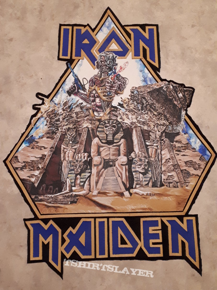 Iron Maiden - Diy Backpatch