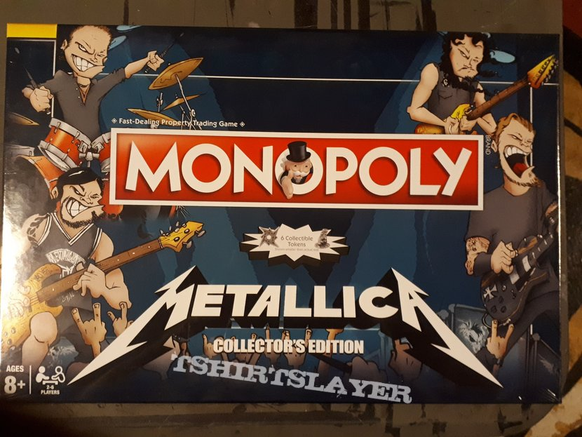 Metallica - Colectors edition Monopoly game