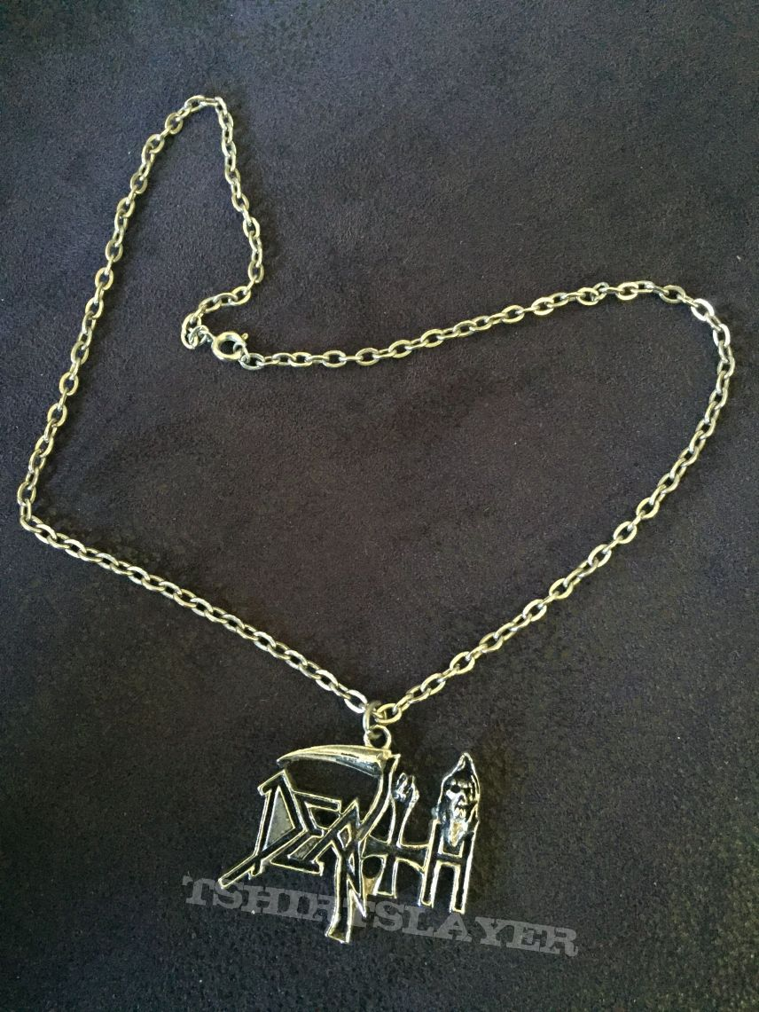 Death -Logo- Pendant with Chain
