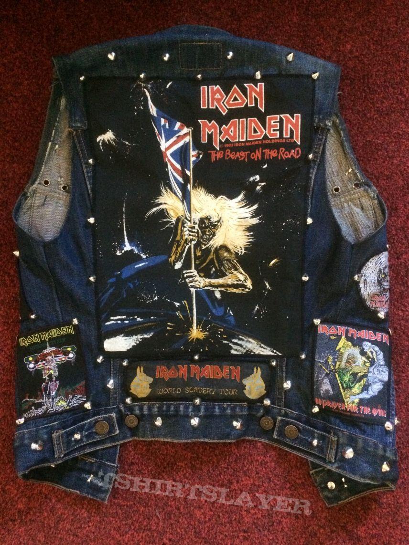 Iron Maiden Tribute Vest