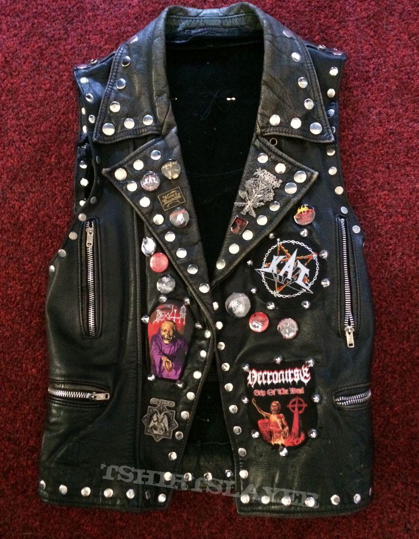 Battle Vest black Leather 1