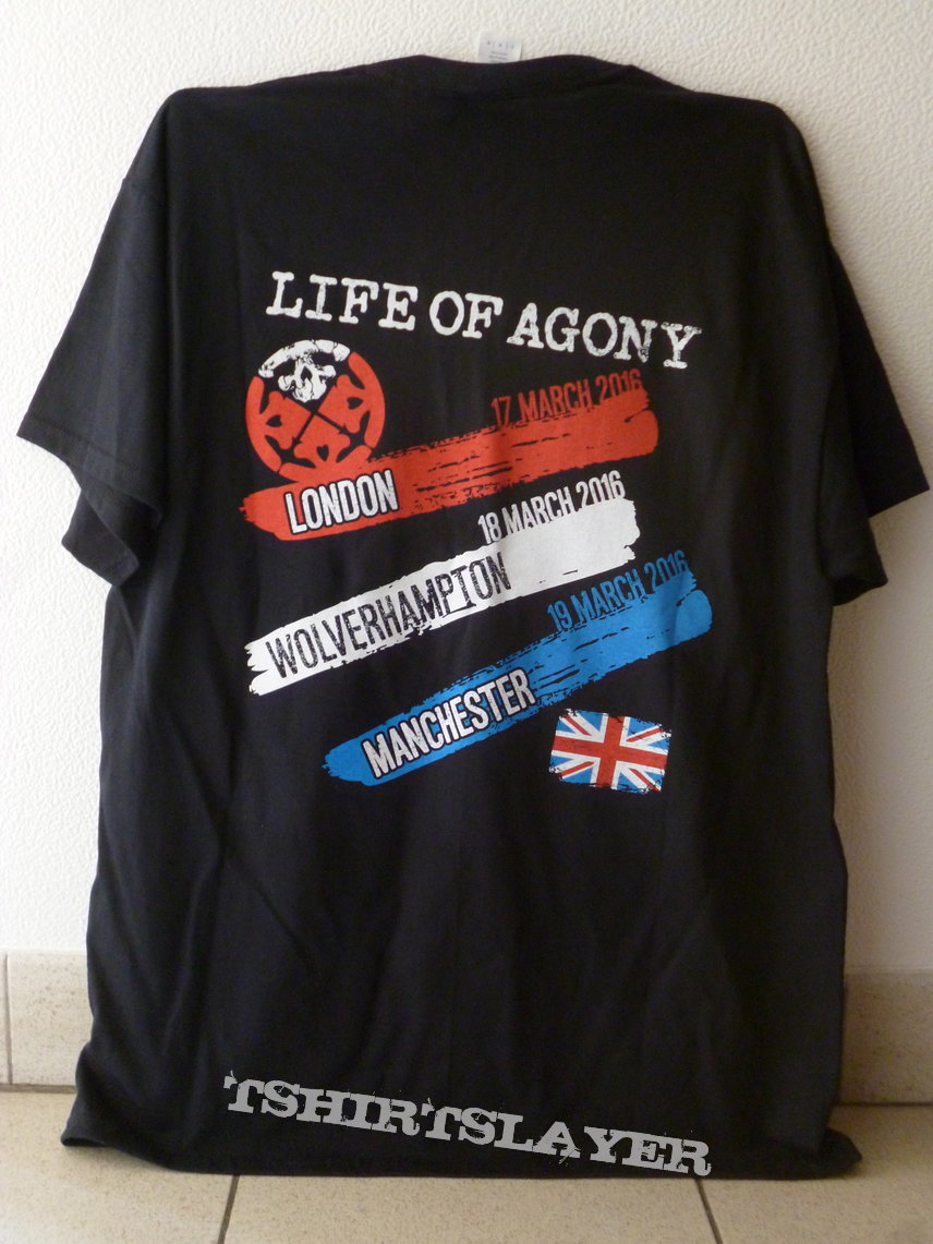 LO.A. Agony in the UK tour