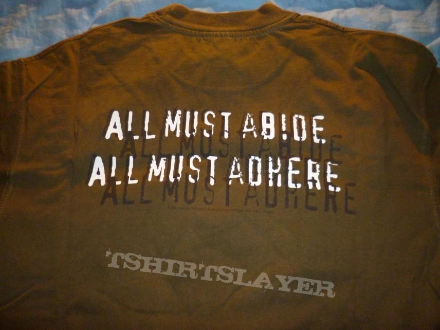 obsolete tour shirt