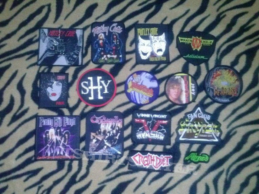 """""""Metal Patches"""""""