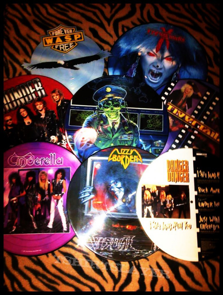 Some of my picture discs