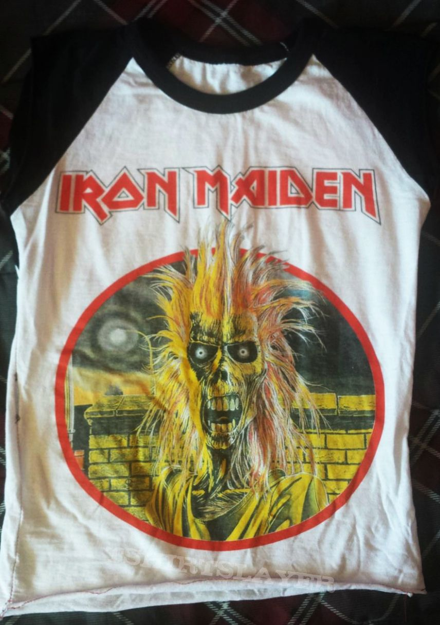"Iron Maiden ""Iron Maiden"" Baseball shirt"