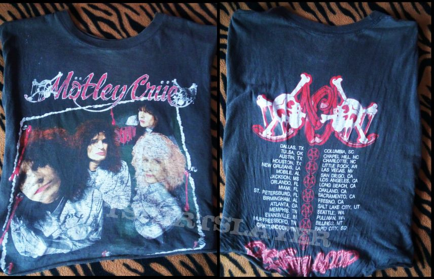 Mötley Crüe Dr Feelgood USA tour