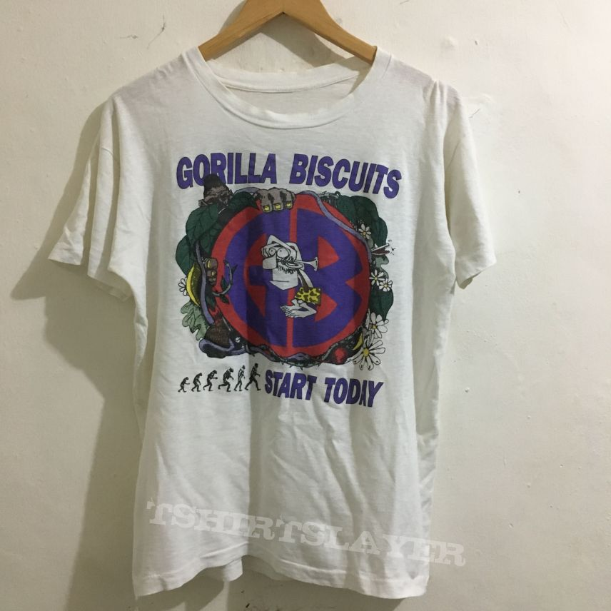 Gorilla Biscuits European tour 89