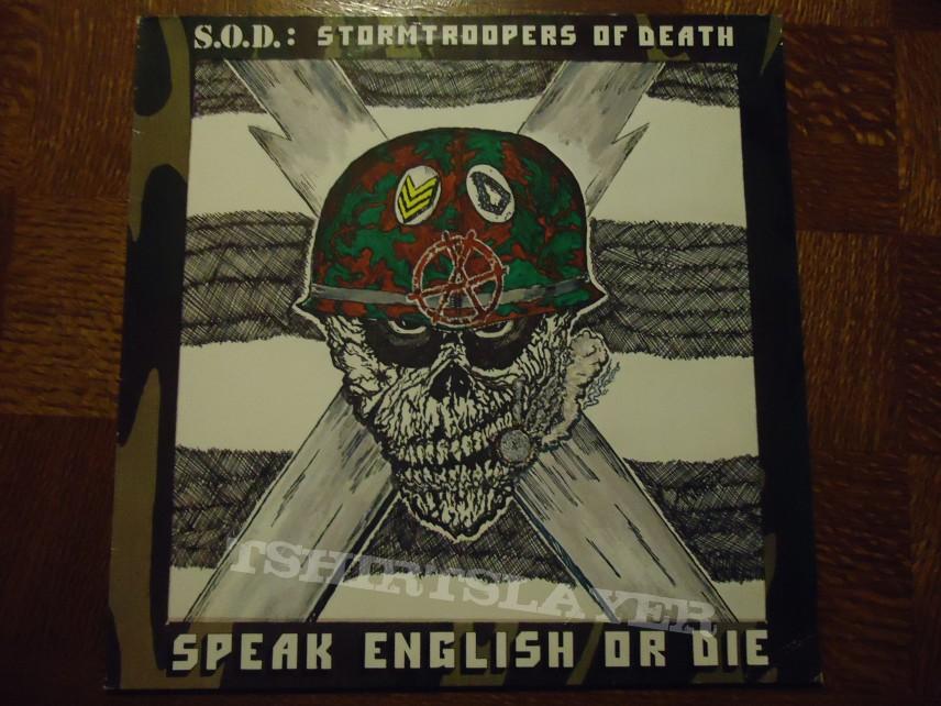 S.O.D - Speak english Or die LP