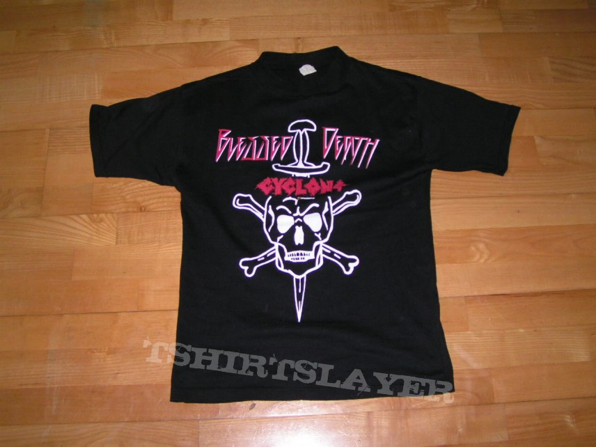 Blessed death / Cyclone tourshirt