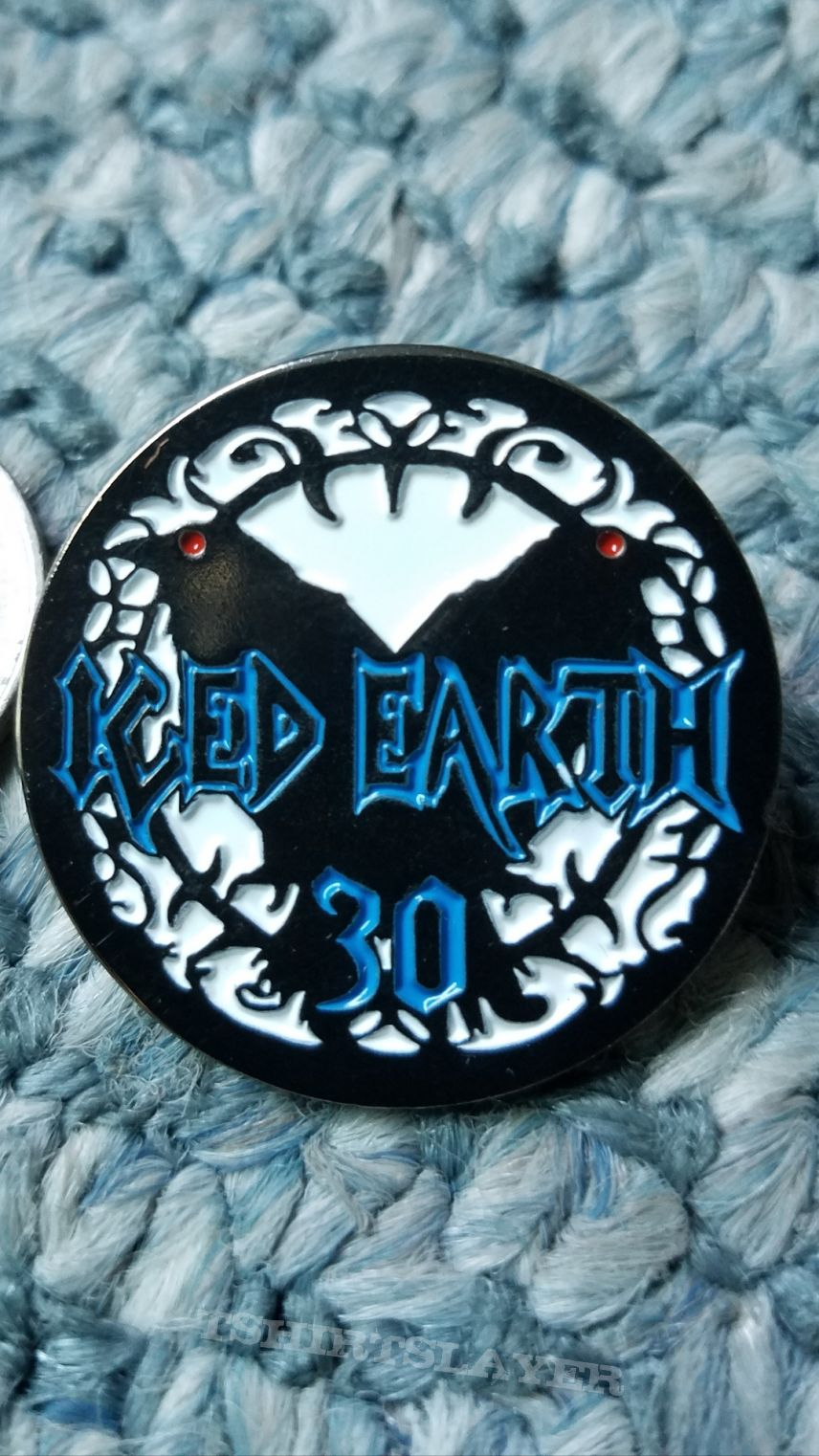 Iced Earth 30th Aniversary Limited Edition Enamel Pins