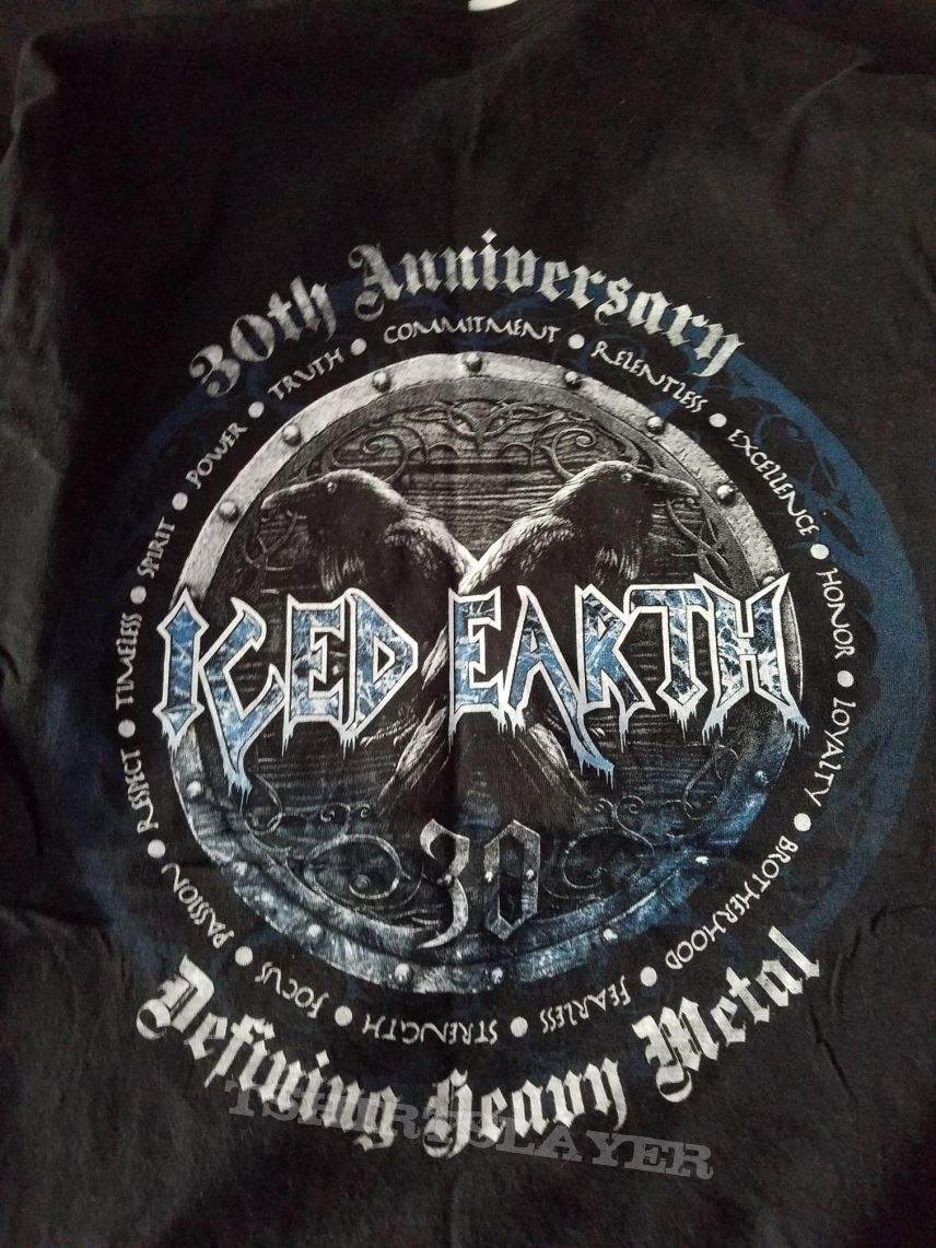 Iced Earth /'30th Anniversary/' Long Sleeve T shirt NEW