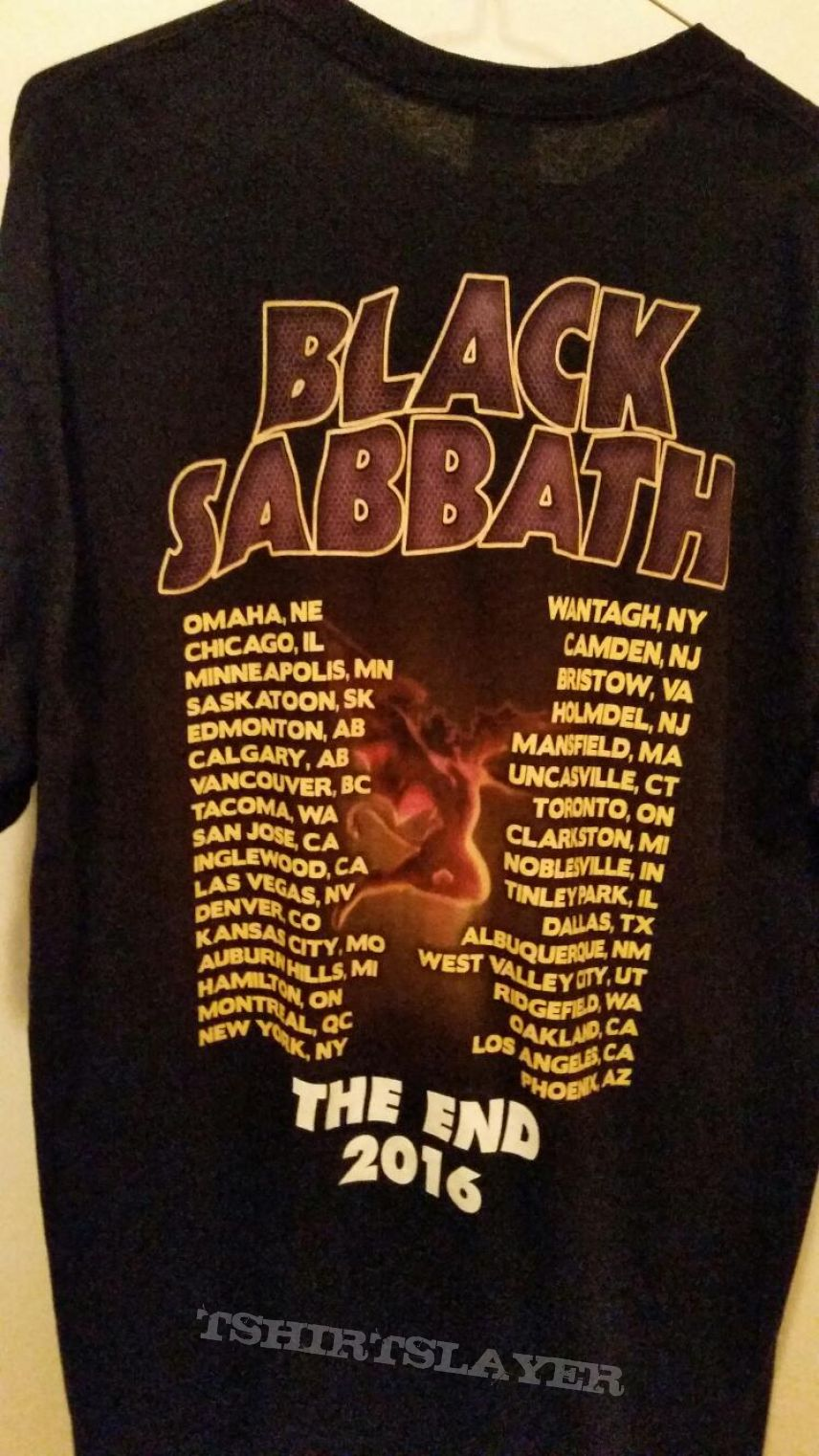black sabbath the end 2016 tour shirt tshirtslayer tshirt and battlejacket gallery. Black Bedroom Furniture Sets. Home Design Ideas