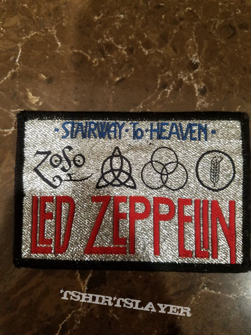 Led zeppelin - stairway to heaven vintage patch